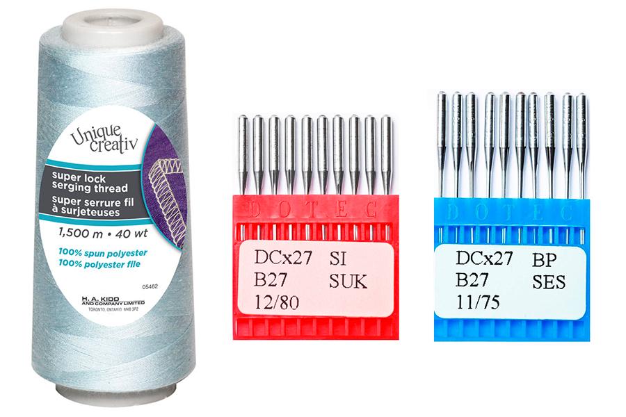 Что нужно для шитья трикотажа?