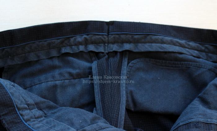 Как уменьшить или расширить брюки